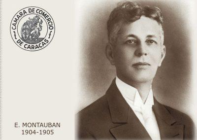 E. Montauban
