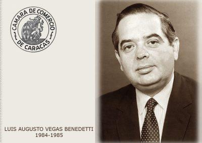 Luis Augusto Vegas Benedetti