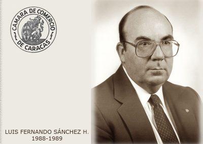 Luis Fernando Sánchez H.