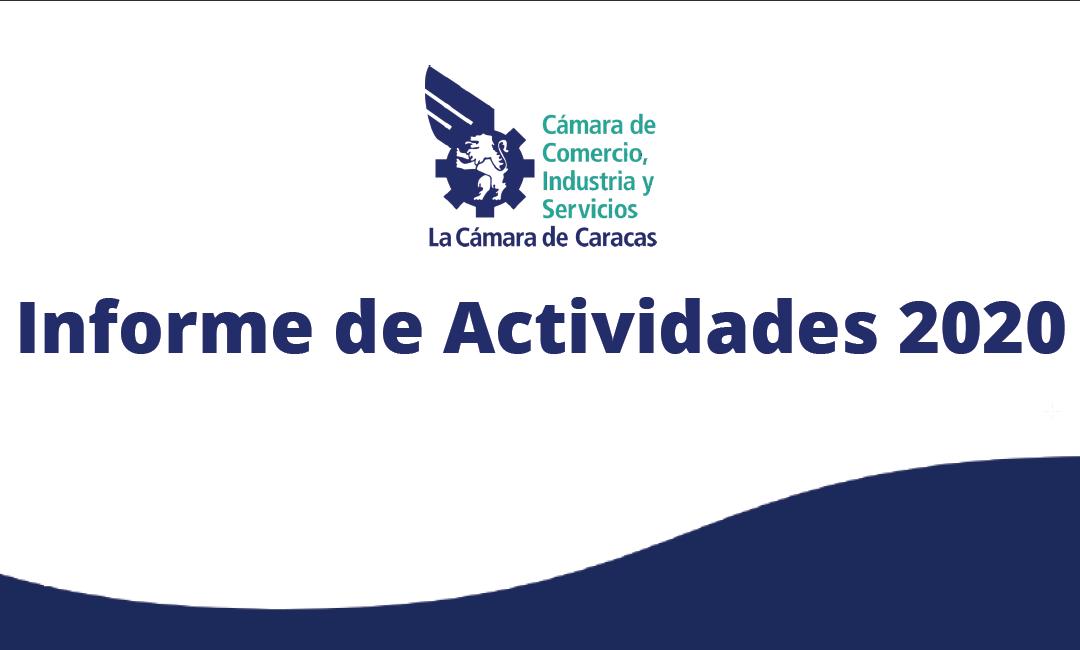 Informe de Actividades 2020