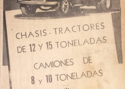 Diario Últimas Noticias, 1953