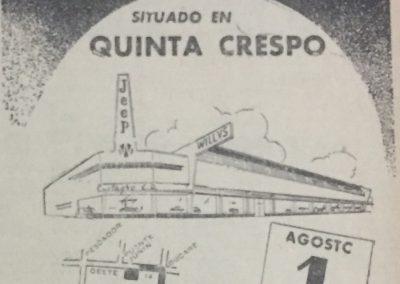 CENTAGRO. Diario El Universal, 1954