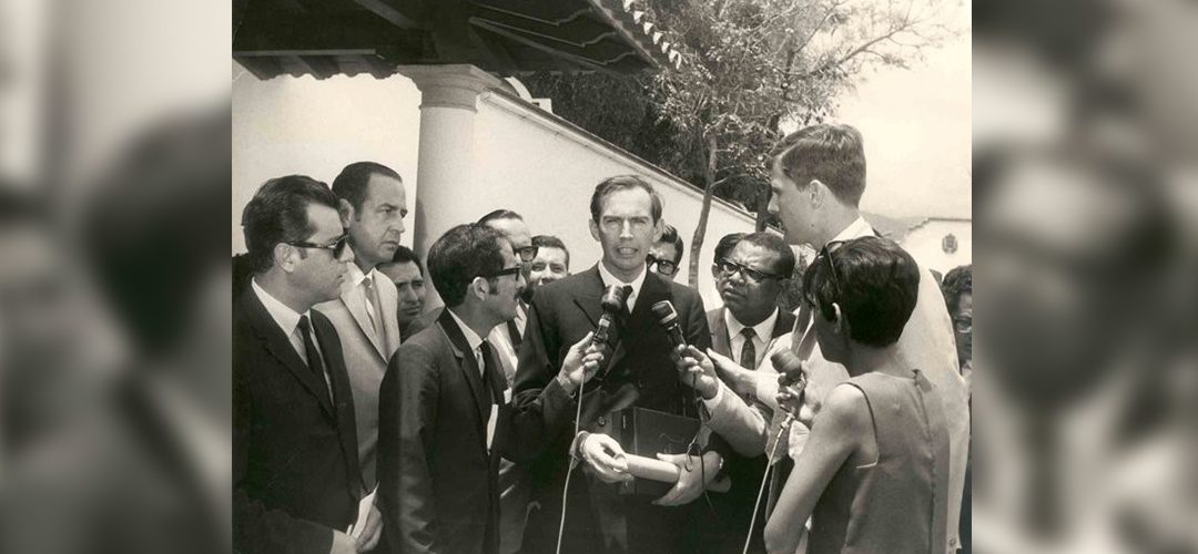 Christiaan Barnard en Caracas