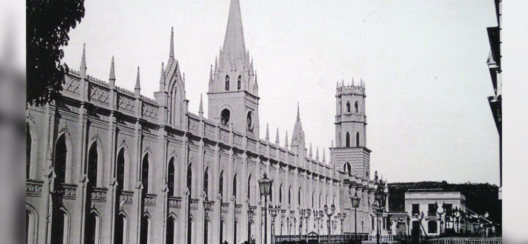 Caracas en el bicentenario de Bolívar, 1883
