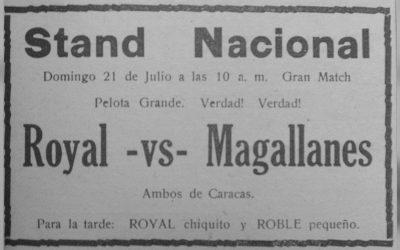 Orígenes de la rivalidad Caracas-Magallanes – Parte II