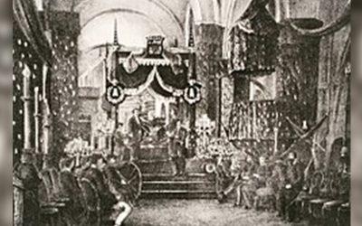 El funeral de Francisco Linares Alcántara
