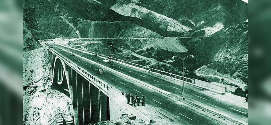 Autopista Caracas-La Guaira, maravilla de la ingeniería