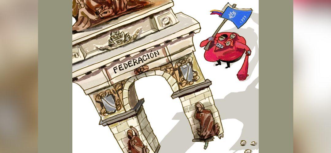 Del Estado Federal al Estado Comunal por Rafael Badell Madrid