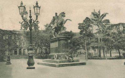 La Plaza Bolívar de Caracas